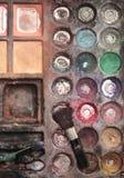 KidÂs Make-upfall Lizenzfreie Stockbilder