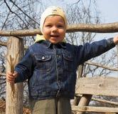 Kid. Smiling kid Stock Photography