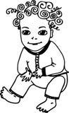 kid royalty-vrije illustratie