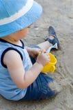 Kid. Baby playing Royalty Free Stock Photos