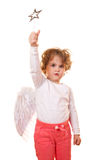 Kid angle Stock Photography