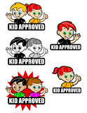 Kid Approved Icon Stock Images
