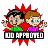 Kid Approved Icon Mix Royalty Free Stock Photo
