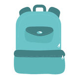 Kid bag icon. School and education design. Vector graphic. School and education concept represented by kid bag icon. isolated and flat illustration Stock Image