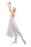 Kid ballet dancer Royalty Free Stock Image