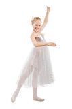 Kid ballet dancer Royalty Free Stock Photos