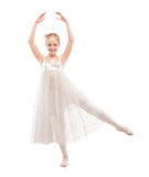 Kid ballet dancer Stock Images