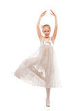Kid ballet dancer Royalty Free Stock Photo