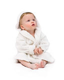 Kid in a bathing dressing Stock Photography