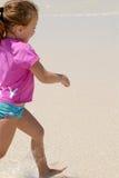 Kid on beach Royalty Free Stock Photos