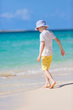 Kid at the beach Royalty Free Stock Photography