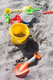 Kid beach toys Royalty Free Stock Images