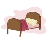 Kid bed Stock Photography