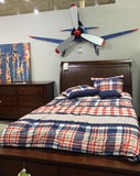 Kid bedroom furniture selling Royalty Free Stock Photos