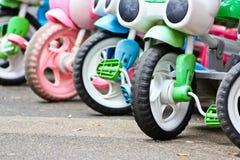 Kid bicycle Stock Photo