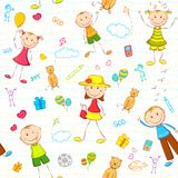 Kid Birthday Background Royalty Free Stock Images