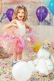 Kid birthday party royalty free stock image