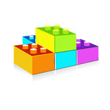 Kid blocks. Kids blocks for a lot of uses and concepts Royalty Free Stock Photos