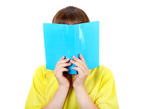Kid with the Book Stock Photography