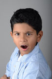 Kid. Boy with expression in the face Royalty Free Stock Images