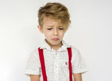 Kid Boy Face Expression Cry Unhappy Stock Photo