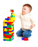 Kid building Stock Photos