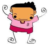 Kid cartoon 10 Stock Photography