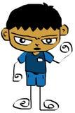 Kid cartoon 13 Royalty Free Stock Image