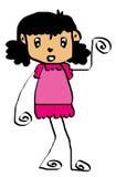 Kid cartoon 2 Stock Photography