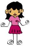 Kid cartoon 5 Royalty Free Stock Photo