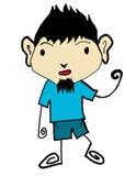 Kid cartoon  Stock Photo