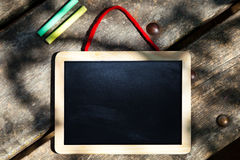 Kid Chalkboard Royalty Free Stock Image
