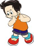 Kid character  Royalty Free Stock Image