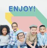 Kid Child Chilren Playful Childhood Concept Stock Image