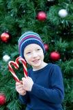 Kid at christmas Royalty Free Stock Photo