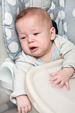 Kid cries Royalty Free Stock Photos