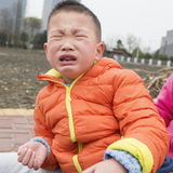 Kid crying Royalty Free Stock Photo