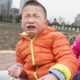 Kid crying Royalty Free Stock Photo