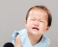 Kid crying Stock Image