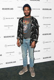 Kid Cudi. NEW YORK-OCT 11: Recording artist/actor Kid Cudi attends the premiere of 'Meadowland' at Sunshine Landmark on October 11, 2015 in New York City Stock Photography