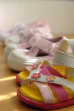 Kid cute shoes Stock Photography
