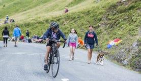 Kid Cyclist Stock Photos