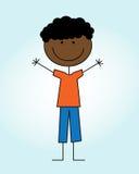 Kid design. Over blue background  vector illustration Royalty Free Stock Photo