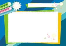 Kid diploma design - new and fun Royalty Free Stock Images
