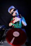 Kid DJ Stock Images