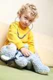 Kid doctor Royalty Free Stock Photography
