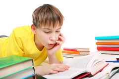 Kid doing Homework Royalty Free Stock Photo
