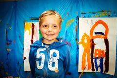 Kid is Drawing