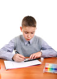 Kid drawing Royalty Free Stock Photos