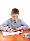 Kid drawing Royalty Free Stock Photos